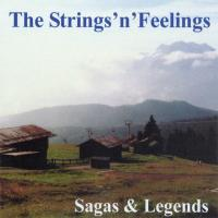 Sagas & Legends [CD] Strings'n Feelings - W. Eiring