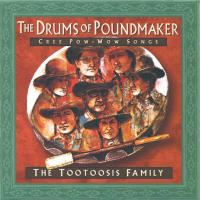 Drums of Poundmaker - Cree Pow Wow Songs [CD] Tootoosis Family