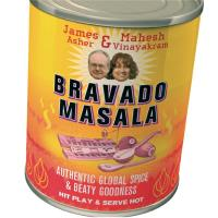 Bravado Masala [CD] Asher, James & Vinayakram, Mahesh