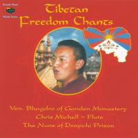 Tibetan Freedom Chants [CD] Bhagdro &  Michell, Chris