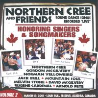 Honoring Singers & Songmakers [CD] Northern Cree and Friends Vol. 2