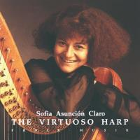 The Virtuoso Harp [CD] Claro, Sofia