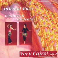 Very Cairo! Vol. 2 - Oriental Music for Teachers & Students [CD] Live Orchestra from Cairo