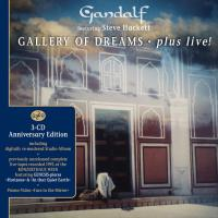 Gallery of Dreams - plus live [3CDs] Gandalf & Hackett, Steve