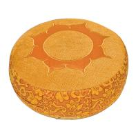 Rundkissen SHAKTI, Lotus-Orange Namaste Design