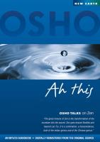 Ah This (Osho Talks on Zen) [CD] Osho
