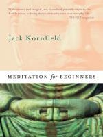 Meditation for Beginners [Buch+CD] Kornfield, Jack