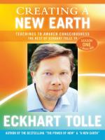 Creating A New Earth [7DVDs] Tolle, Eckhart