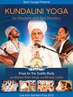 Kundalini Yoga for Wisdom and Self Mastery [DVD] Mirabai Ceiba & Mahan Rishi Singh