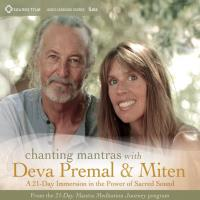 Chanting Mantras with Deva Premal & Miten - 21 Day Immersion [5CDs] Deva Premal & Miten