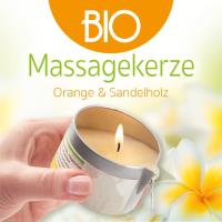 Orange & Sandelholz 100 ml Buddha2Buddha: BIO Massagekerze