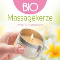 Rose & Mandarine 100 ml Buddha2Buddha: BIO Massagekerze