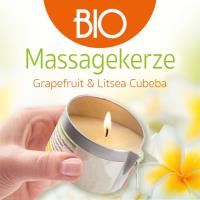 Grapefruit & Litsea Cubeba 100 ml Buddha2Buddha Massage Candle
