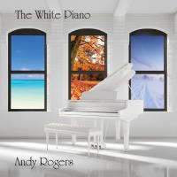 The White Piano [CD] Rogers, Andy