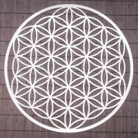 Flower of Life 43,5 cm Wall decoration made of stainless steel